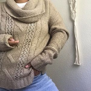 092ae425edc9a Women s Oversized Chunky Cable Knit Sweater on Poshmark